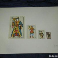 Arte: (M) JOAN BROSSA - LITOGRAFIA OBRA GRÁFICA - BARAJA DE CARTAS P.A IV/V FIRMADA A LÁPIZ. Lote 216976765
