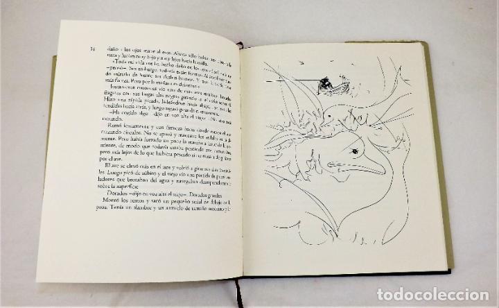 Arte: El Viejo y El Mar Ilustraciones de Salvador Dalí y Litografía original firmada de Willi Glasauer - Foto 3 - 217018075
