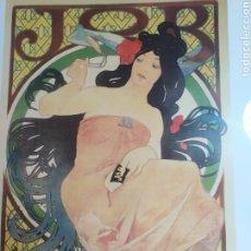 Arte: LITOGRAFÍA EMMARCADA ORIGINAL ALPHONSE MUCHA, JOB, 1898. Lote 217325551