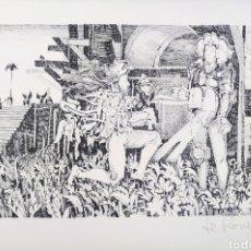 Arte: RAFFAELLE DE ROSA - SIN TITULO. Lote 217425376