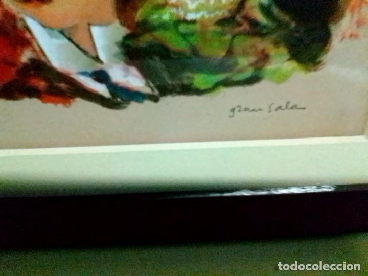 Arte: E GRAU SALA LITO ILUMINADA CON GOACHE - Foto 5 - 217963868