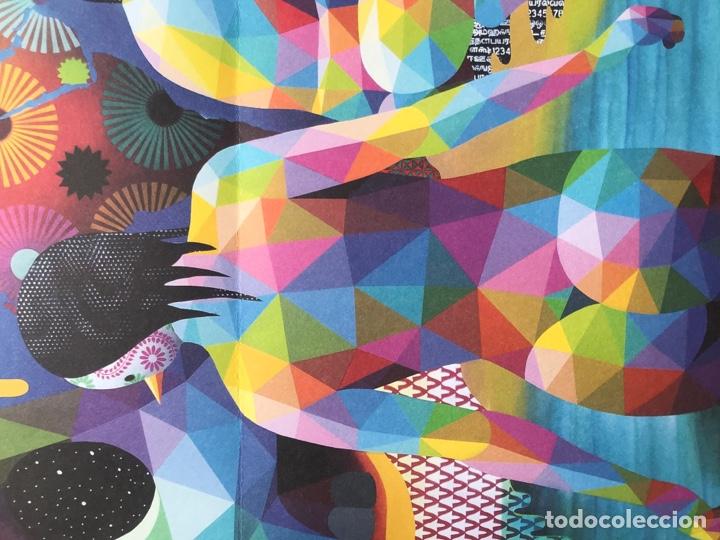 """Arte: Envío 8€. Guía folleto/reproducción """"el lago del deseo"""" 2018 de OKUDA SAN MIGUEL en el CCC. - Foto 4 - 218074723"""