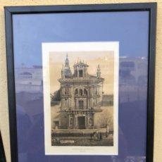 Arte: BONITA LITOGRAFÍA ANTIGUA, HOSPITAL DE LA CARIDAD SEVILLA, FIRMADO. Lote 218363100