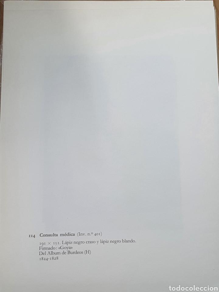 Arte: Litografia de Goya. CONSULTA MEDICA. 114 (inv 401) 192x151 Del álbum de Burdeos 1824-1828 - Foto 2 - 218633463