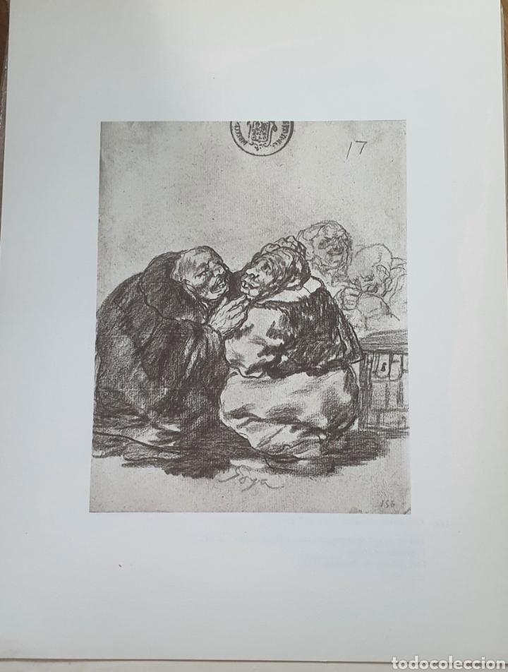 LITOGRAFIA DE GOYA. CONSULTA MEDICA. 114 (INV 401) 192X151 DEL ÁLBUM DE BURDEOS 1824-1828 (Arte - Litografías)