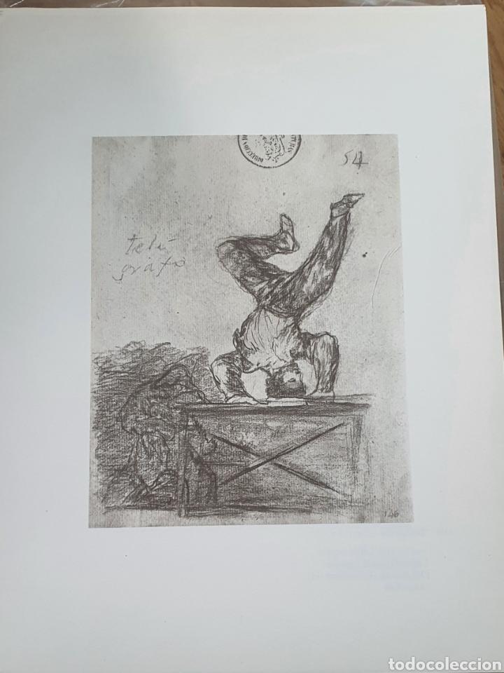 LITOGRAFIA DE GOYA. TELEGRAFO. 118 (INV 377) 192X151 DEL ÁLBUM DE BURDEOS 1824-1828 (Arte - Litografías)