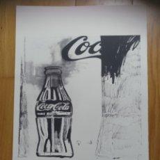 Arte: LITOGRAFÍA ORIGINAL ANDY WARHOL TAMAÑO GRANDE. Lote 218715495