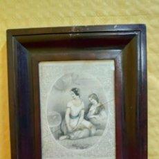 Arte: LITOGRAFÍA ANTIGUA MUJERES, 2000-095. Lote 89722764