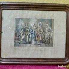 Arte: LITOGRAFÍA ANTIGUA GUZMÁN EL BUENO, 2000-118. Lote 89634656