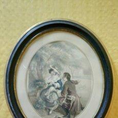 Arte: LITOGRAFÍA ANTIGUA A COLOR CORTEJO, 2000-126. Lote 89638024