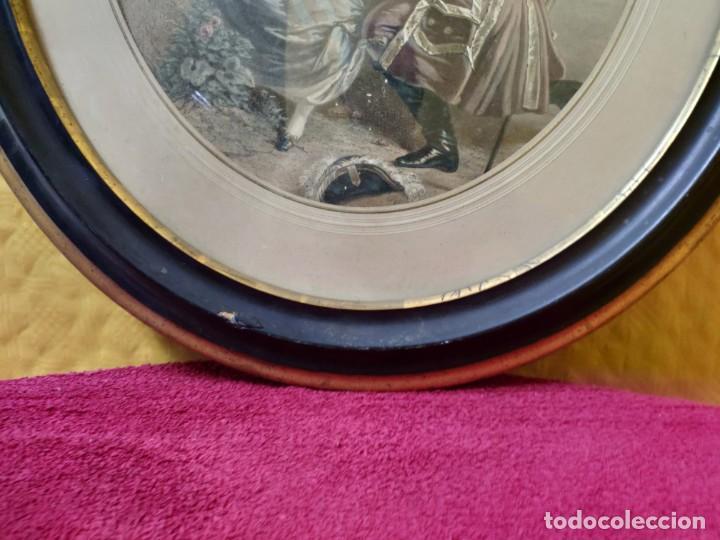 Arte: LITOGRAFÍA ANTIGUA A COLOR CORTEJO, 2000-126 - Foto 4 - 89638024