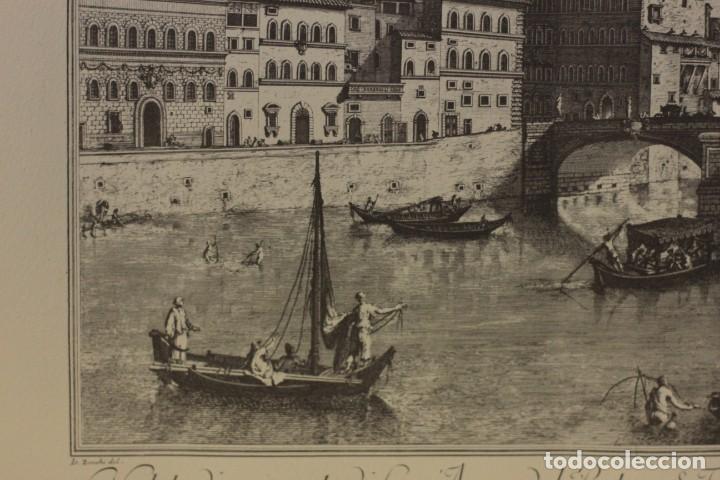 Arte: ZOCCHI, G. - Veduta di una parte di Lung... enmarcado 67x52cm - Foto 7 - 218912877