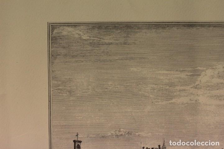 Arte: ZOCCHI, G. - Veduta di una parte di Lung... enmarcado 67x52cm - Foto 9 - 218912877