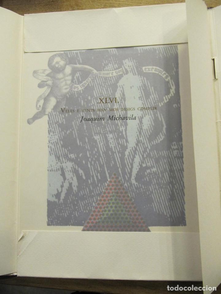 Arte: CARPETA - 9 GRAVADORS INTERPRETEN AUSIAS MARCH - JOAN GENOVES,ARCADI BLASCO,ARTUR HERAS,ANTONI MIRO, - Foto 4 - 219277500