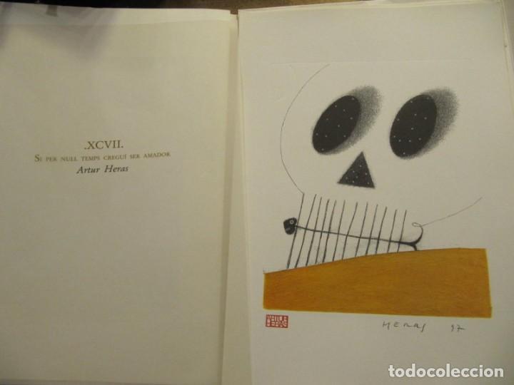 Arte: CARPETA - 9 GRAVADORS INTERPRETEN AUSIAS MARCH - JOAN GENOVES,ARCADI BLASCO,ARTUR HERAS,ANTONI MIRO, - Foto 5 - 219277500