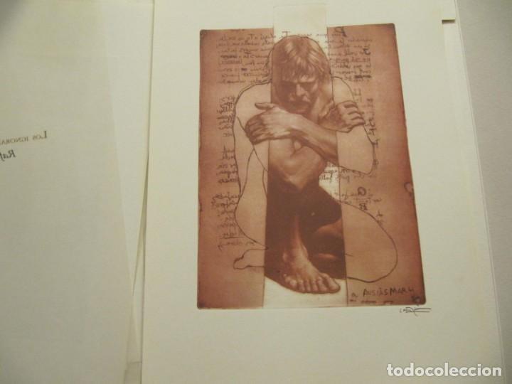 Arte: CARPETA - 9 GRAVADORS INTERPRETEN AUSIAS MARCH - JOAN GENOVES,ARCADI BLASCO,ARTUR HERAS,ANTONI MIRO, - Foto 7 - 219277500