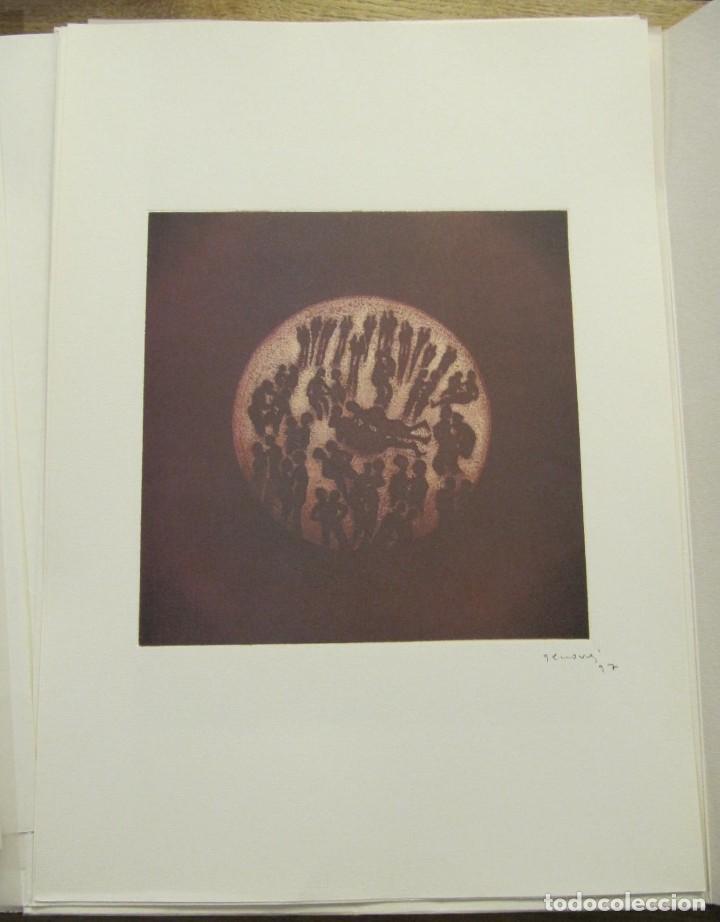 Arte: CARPETA - 9 GRAVADORS INTERPRETEN AUSIAS MARCH - JOAN GENOVES,ARCADI BLASCO,ARTUR HERAS,ANTONI MIRO, - Foto 9 - 219277500