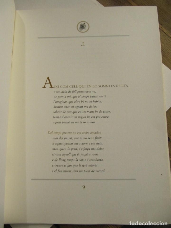 Arte: CARPETA - 9 GRAVADORS INTERPRETEN AUSIAS MARCH - JOAN GENOVES,ARCADI BLASCO,ARTUR HERAS,ANTONI MIRO, - Foto 12 - 219277500