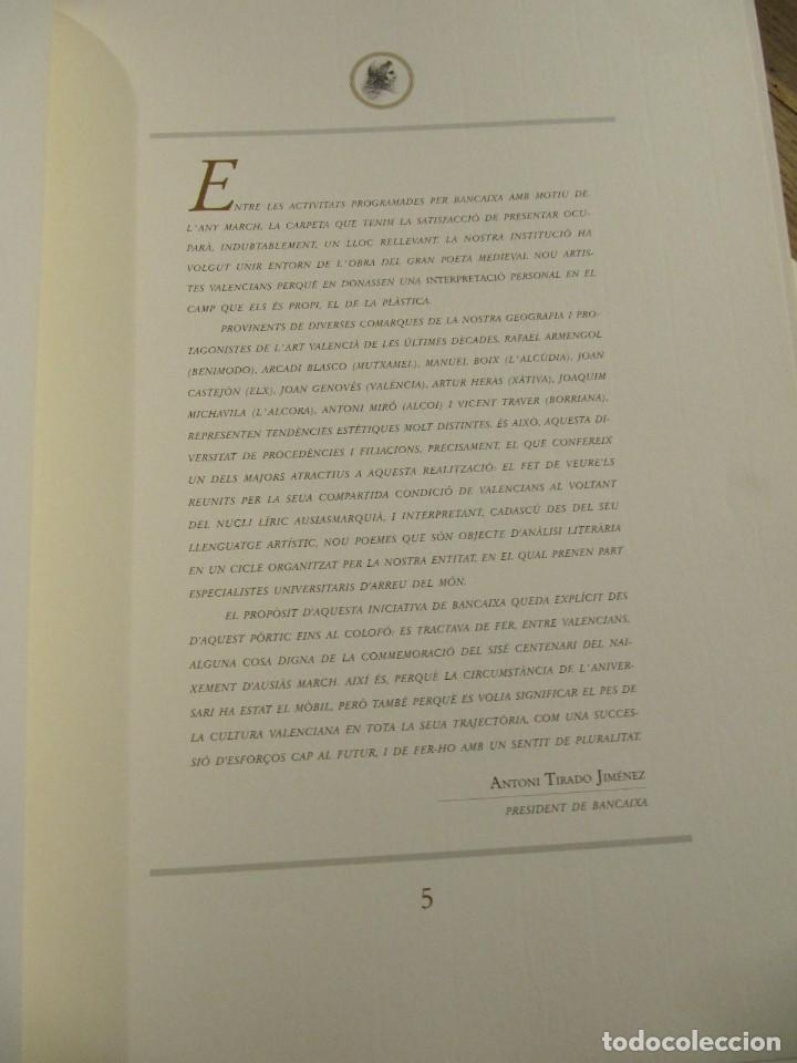 Arte: CARPETA - 9 GRAVADORS INTERPRETEN AUSIAS MARCH - JOAN GENOVES,ARCADI BLASCO,ARTUR HERAS,ANTONI MIRO, - Foto 13 - 219277500