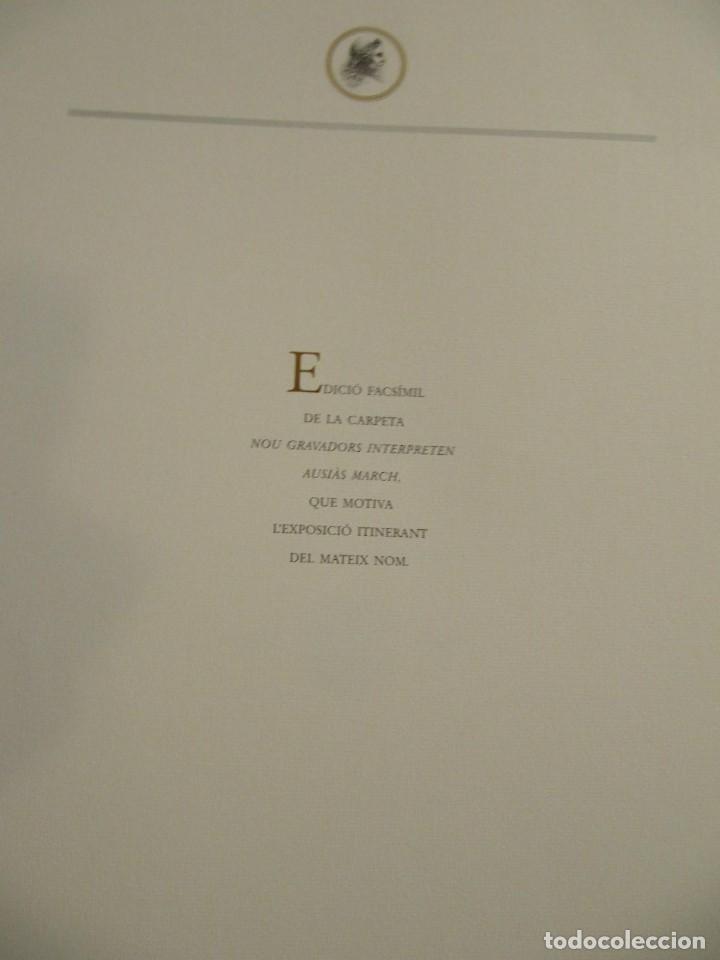 Arte: CARPETA - 9 GRAVADORS INTERPRETEN AUSIAS MARCH - JOAN GENOVES,ARCADI BLASCO,ARTUR HERAS,ANTONI MIRO, - Foto 20 - 219277500