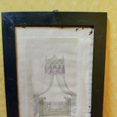 Arte: LITOGRAFÍA LIT GOTHIQUE EN BOIS CITRON, 2000-237. Lote 89643536