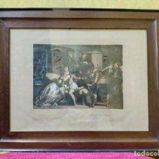 Arte: LITOGRAFÍA MAZEPPA SUPERADO POR EL CONDE, 2000-181. Lote 89714468