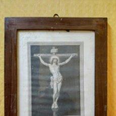 Arte: LITOGRAFÍA ANTIGUA SANTÍSIMO CRISTO SAN GINÉS, 2000-191. Lote 89715600