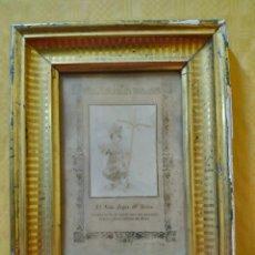 Arte: LITOGRAFÍA ANTIGUA EL NIÑO JESÚS DE BELÉN, 2000-215. Lote 89716460