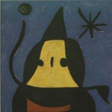 Arte: INTERESANTE LITOGRAFIA GRAN TAMAÑO DE JOAN MIRÓ EDICION LIMITADA AÑO 1973. Lote 220352261
