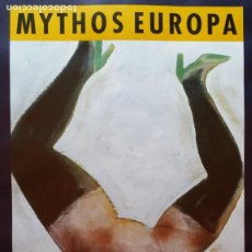 Arte: ROLAND TOPOR: MYTHOS EUROPA, CARTEL DE 1988. Lote 220499481