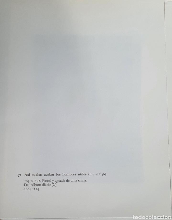 Arte: Litografia de Goya. ASÍ SUELEN ACABAR LOS HOMB. 97 (inv 56) 192x151 Del álbum de Burdeos 1824-1828 - Foto 2 - 220709376