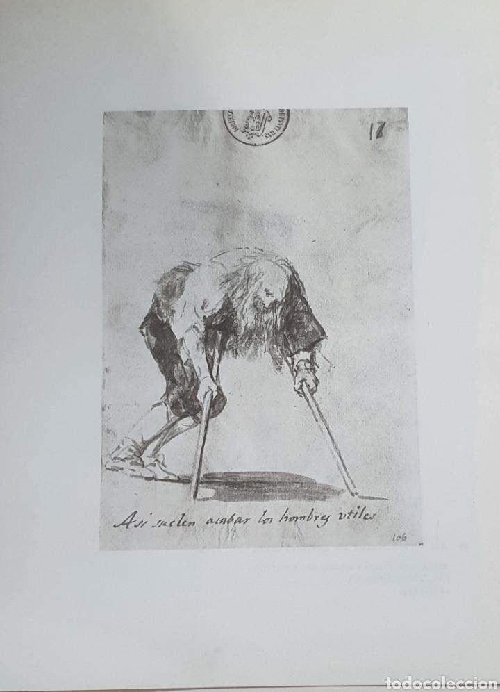 LITOGRAFIA DE GOYA. ASÍ SUELEN ACABAR LOS HOMB. 97 (INV 56) 192X151 DEL ÁLBUM DE BURDEOS 1824-1828 (Arte - Litografías)