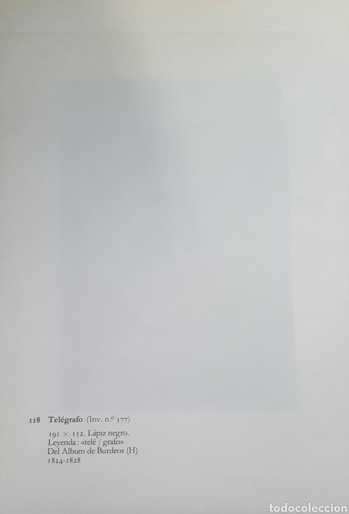 Arte: Litografia de Goya. TELÉGRAFO. 118 (inv 377) 192x151 Del álbum de Burdeos 1824-1828 - Foto 2 - 220709378