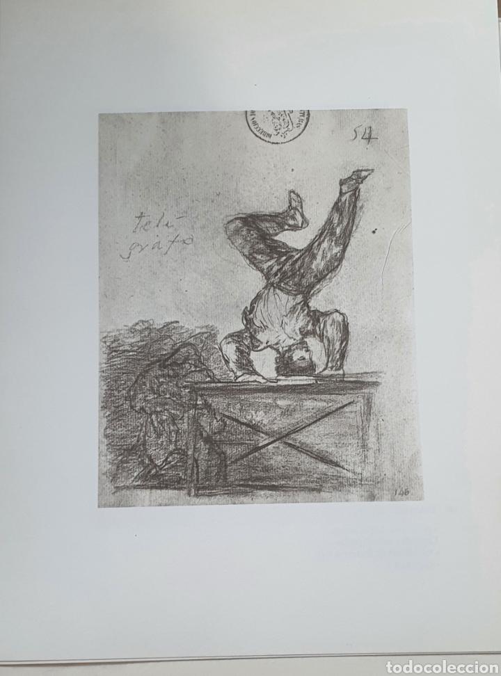 LITOGRAFIA DE GOYA. TELÉGRAFO. 118 (INV 377) 192X151 DEL ÁLBUM DE BURDEOS 1824-1828 (Arte - Litografías)