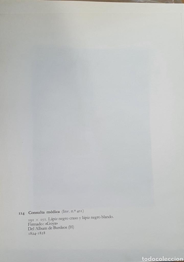 Arte: Litografia de Goya. CONSULTA MÉDICA. 114 (inv 401) 192x151 Del álbum de Burdeos 1824-1828 - Foto 2 - 220709438