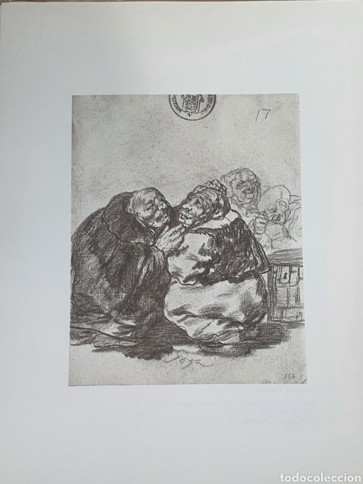 LITOGRAFIA DE GOYA. CONSULTA MÉDICA. 114 (INV 401) 192X151 DEL ÁLBUM DE BURDEOS 1824-1828 (Arte - Litografías)