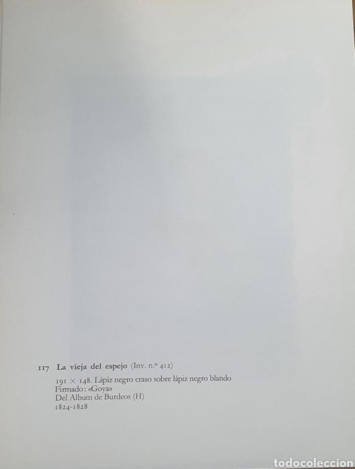 Arte: Litografia de Goya. LA VIEJA DEL ESPEJO. 117 (inv 412) 192x151 Del álbum de Burdeos 1824-1828 - Foto 2 - 220709442