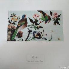 Arte: ANTIGUA LITOGRAFÍA ARTE CHINO. PALACIO REAL DE ARANJUEZ SELLO PATRIMONIO NACIONAL.LÁMINA XV. Lote 220821088