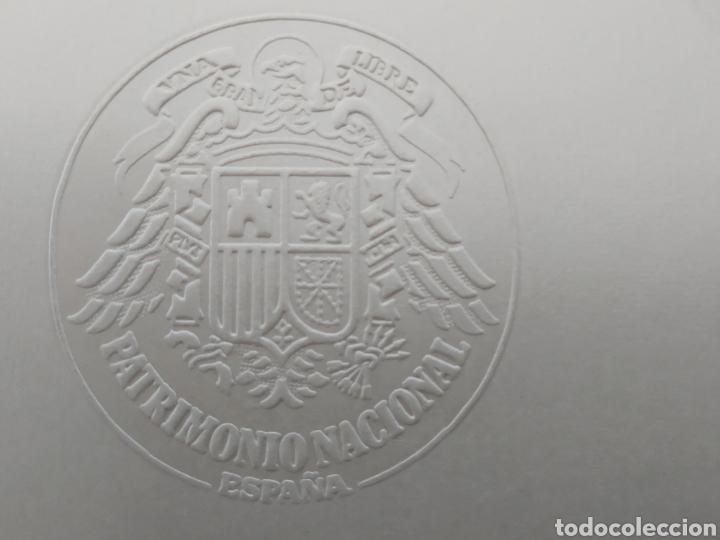 Arte: Antigua Litografía Arte Chino. Palacio Real de Aranjuez Sello Patrimonio Nacional.Lámina XIX - Foto 2 - 220821845