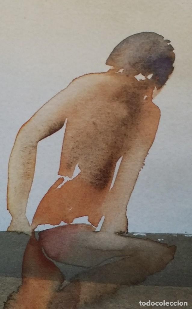 Arte: Nils Burwitz, litografía firmada, numerada y enmarcada en caja - Foto 3 - 177787377