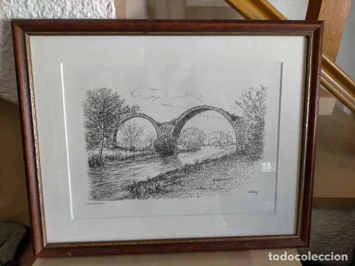 CARDONA PONT DEL DIABLE JORDY ESTANY (Arte - Litografías)