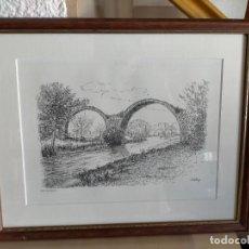 Arte: CARDONA PONT DEL DIABLE JORDY ESTANY. Lote 221483112