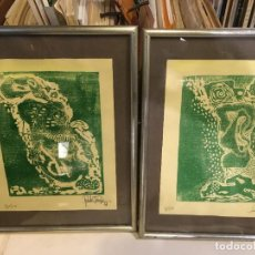 Arte: TRABAJO DE RUBIO TARIFA AÑO 1971 ALICANTE . GRABADO O LITOGRAFÍA, TIRADA 5-8 DE 50. 25 X 19 CMS. Lote 222103773