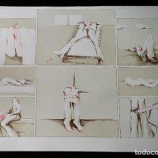 Arte: FRIEDRICH SCHEUER, LITOGRAFÍA DE 1973. FIRMADA Y NUMERADA A LÁPIZ. Lote 222156953