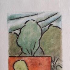 Arte: HANS-JÜRGEN GEYER / LITOGRAFÍA DEL AÑO 2001.. Lote 222386977