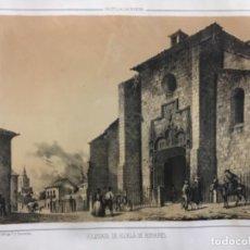 Arte: COLEGIATA DE ALCALÁ DE HENARES. PARCERISA. (LIT. 32 X 22,5 CM). Lote 222444033