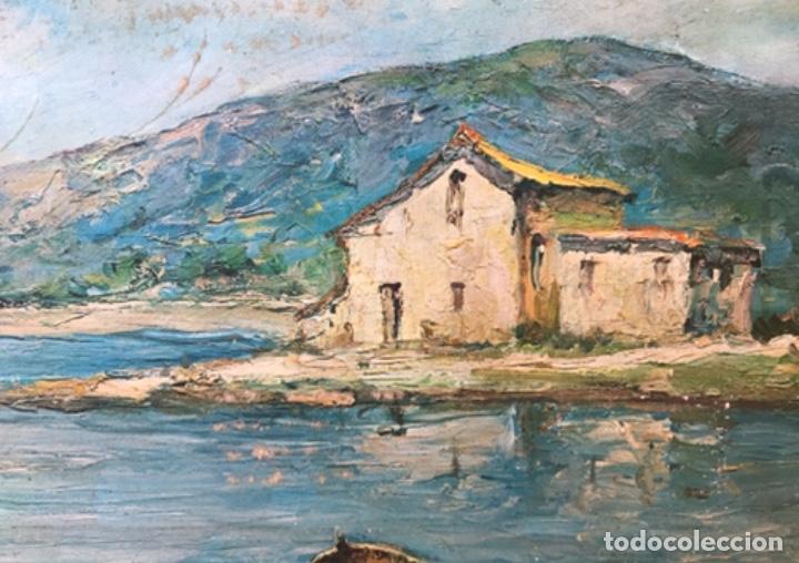 Arte: Cuadro antiguo firmado G Esteban - Foto 2 - 261944710