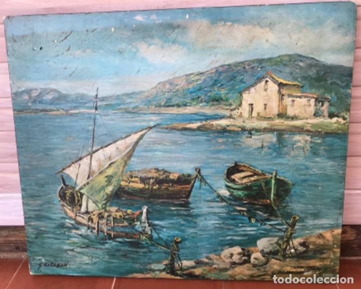 Arte: Cuadro antiguo firmado G Esteban - Foto 5 - 261944710