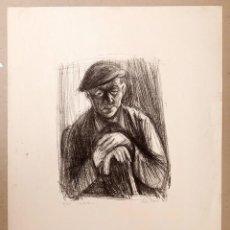 Arte: RUDOLF MOSER - OLD MAN. Lote 222620830