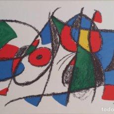 Arte: JOAN MIRO, LITOGRAFÍA VIII. Lote 222646140